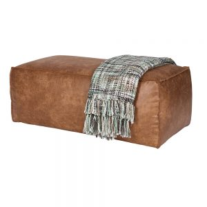 BEPURE-SMART-RODEO-POEF-HOCKER-PUFF-BANK-SOFA-COGNAC-RECYCLELEER-ZIJAANZICHT1