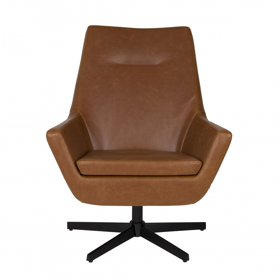 Cognac kuipstoel simple cognac vintage skai with cognac for Kuipstoel fauteuil