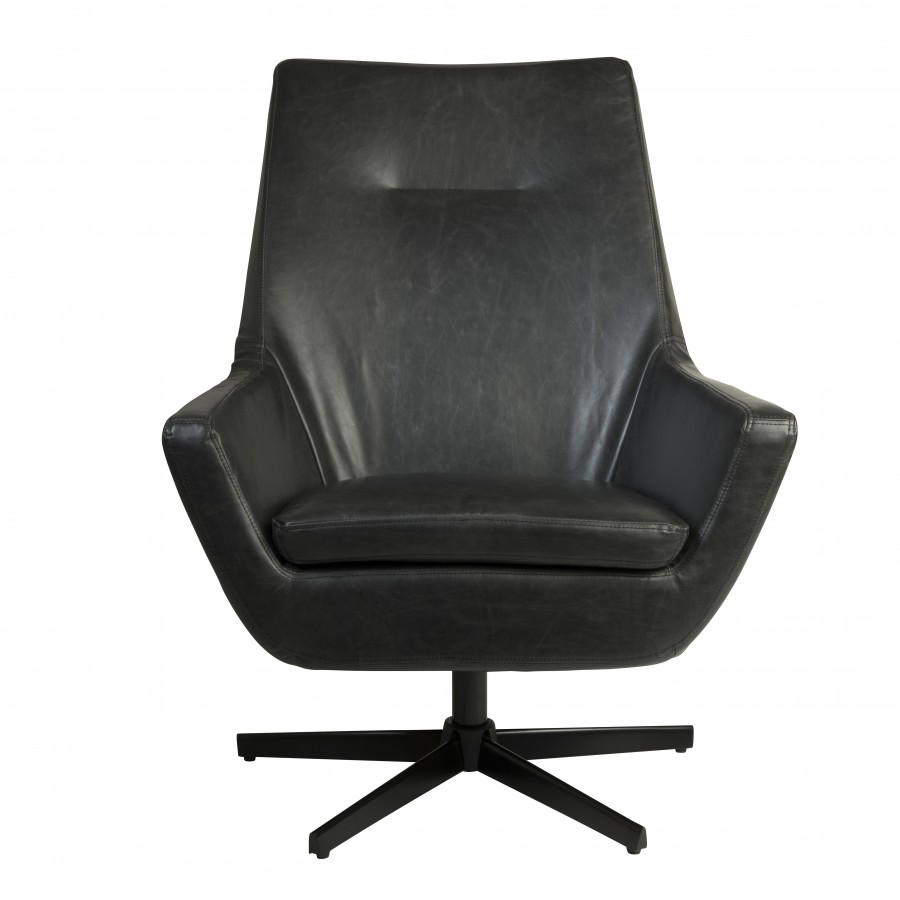 Dutchbone don lounge stoel stoere fauteuil home stock - Comfortabele lounge stoel ...