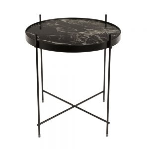 ZUIVER-CUPID-MARMER-ZWART-SIDE-TABLE