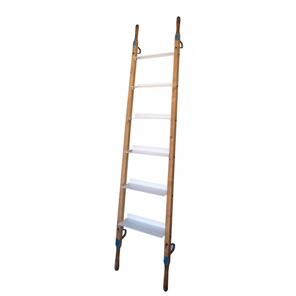 Decoratie ladder wandrek home stock - Decoratie ramp trap ...
