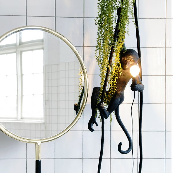HOME-STOCK-SELETTI-LIGHTING-MONKEY-LAMP-BLACK