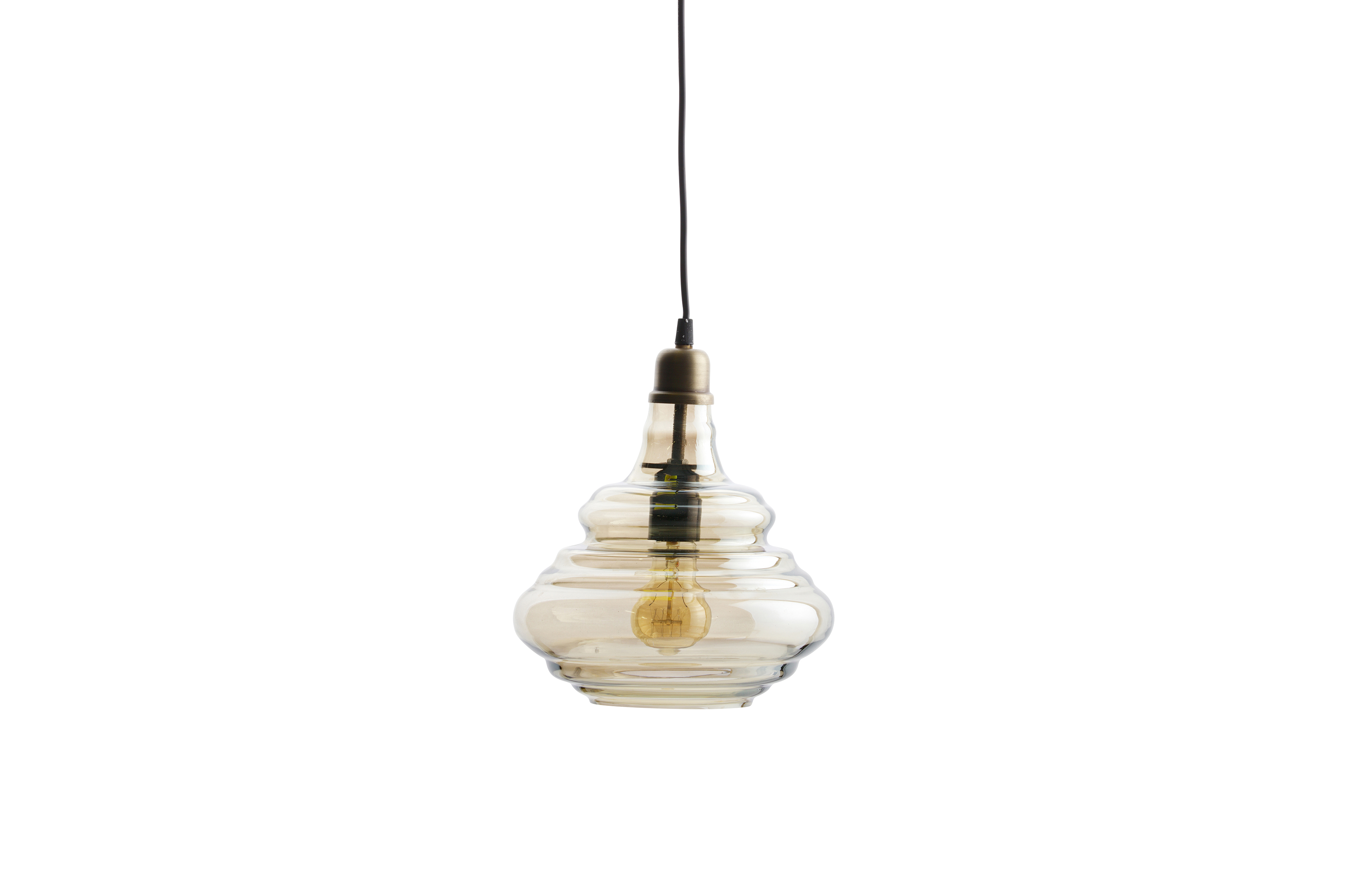 Hanglamp 5 Lampen : Pure vintage hanglamp glas home stock