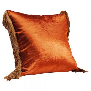 HOME-STOCK-KARE-Cushion fringes brown