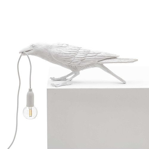 Lamp Vogel Wit Playing Seletti