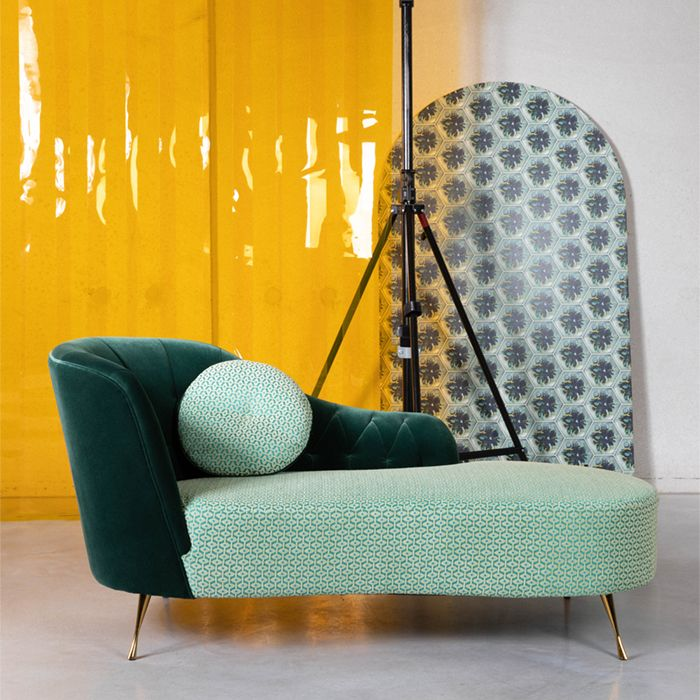 Chaise longue lazy daydreamer mint