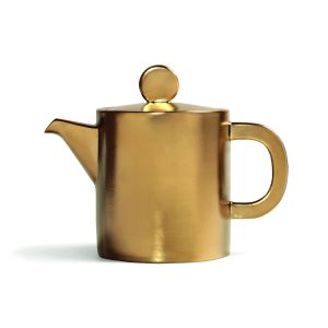 HOMESTOCK-KLEVERING-Teapot-canniken-gold