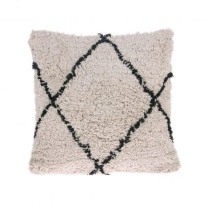 homestock-hkliving-Cotton-diamond-cushion-tku2065