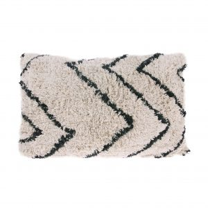 homestock-hkliving-Cotton-zigzag-cushion-tku2066