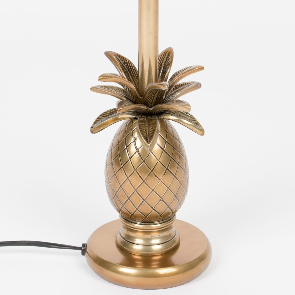 tafellamp pineapple goud
